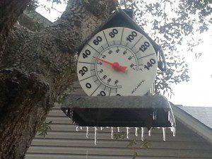 Brrrr…it's cold in Berkeley County!