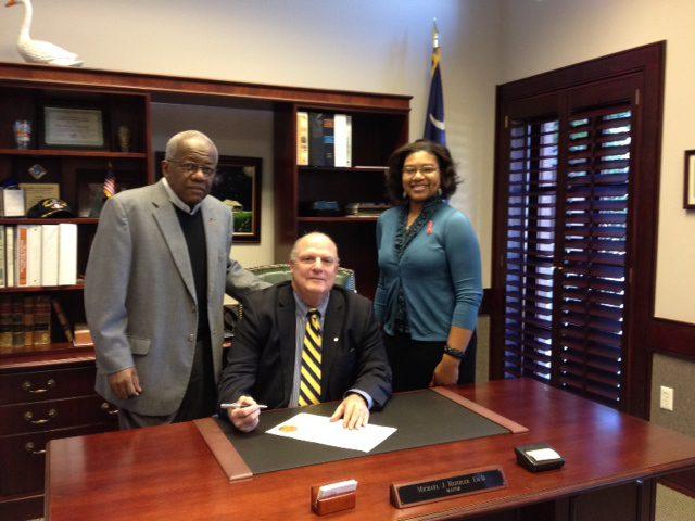Mayor declares February