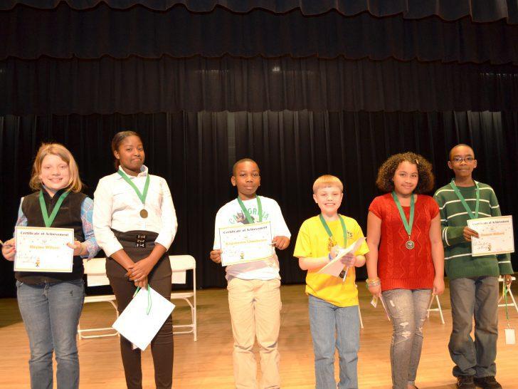 Upper Spelling Bee Contestants