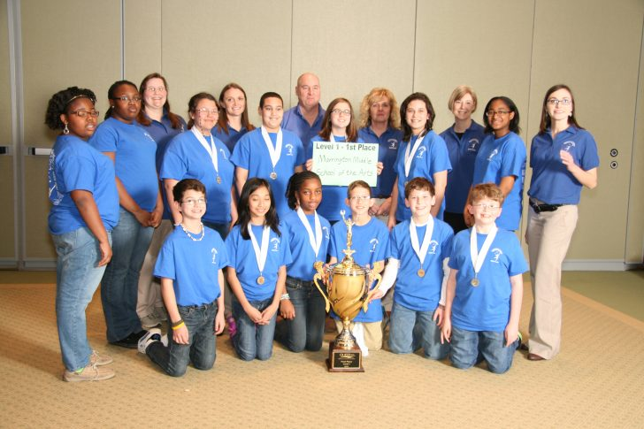 Marrington Middle School of the Arts takes home a first place team competition at the 2014 Quest competition on March 1.