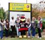 USC's 'Cocky' pays Cainhoy students a surprise visit