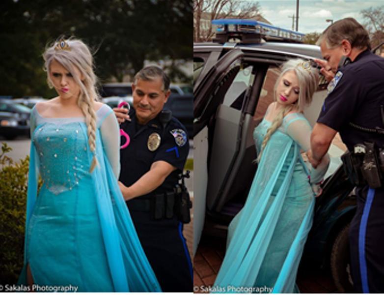 Elsa jean arrested
