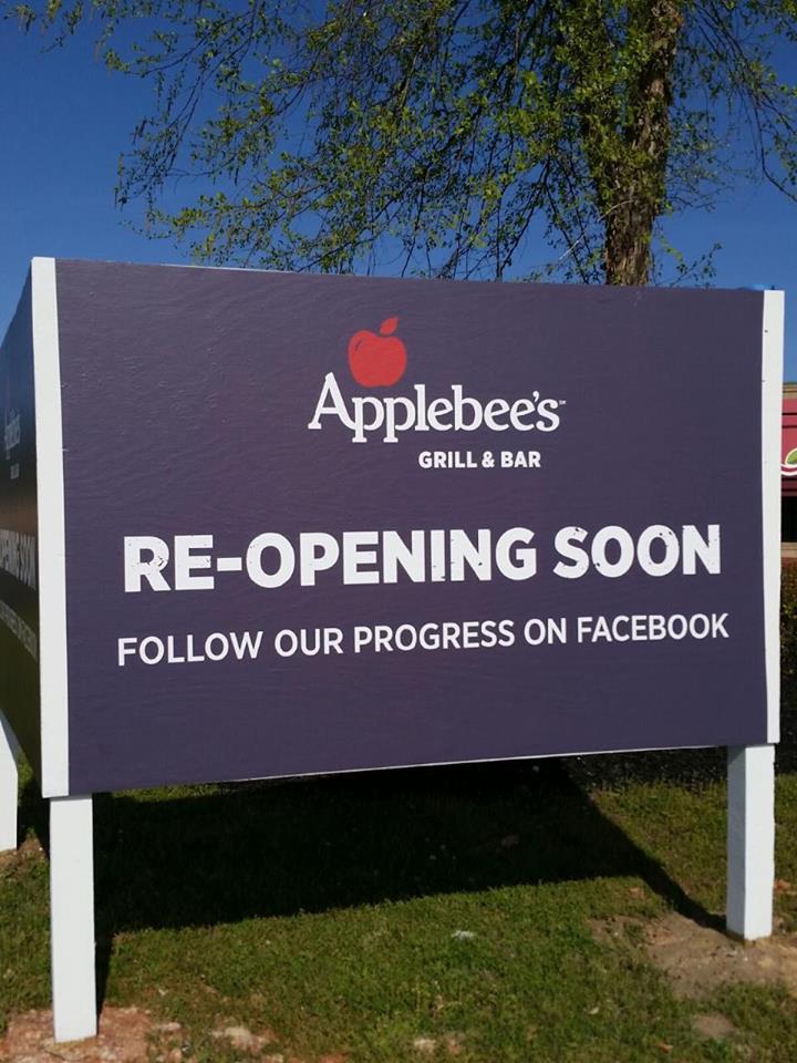 moncks corner applebee s to reopen in mid june the berkeley observer