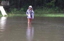 Flooding in Jamestown (Via Lisa Cales-Mills)