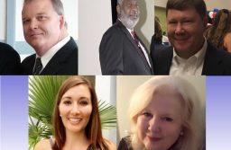Pictured: New school board members