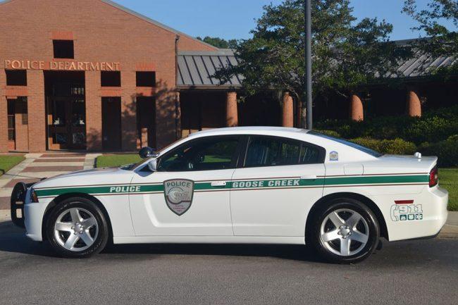 Pictured: Goose Creek Police Dept.